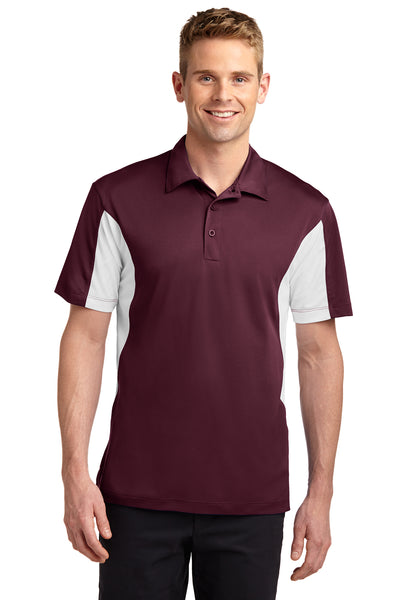 Sport-Tek Side Blocked Micropique Sport-Wick Polo LIGHT COLORS - GREEQ