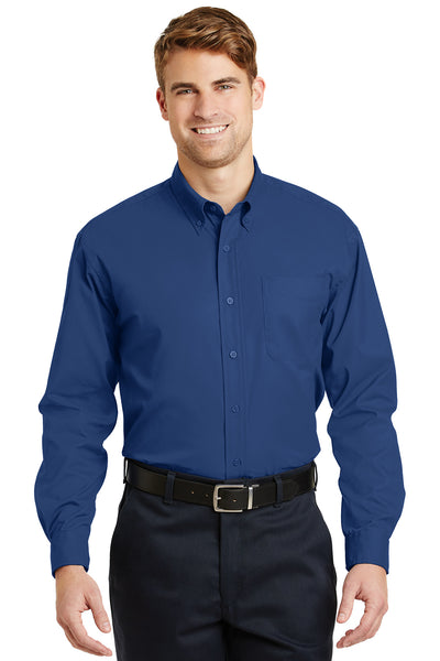 CornerStone Long Sleeve SuperPro Twill Shirt - GREEQ