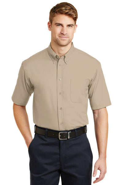 CornerStone Short Sleeve SuperPro Twill Shirt - GREEQ
