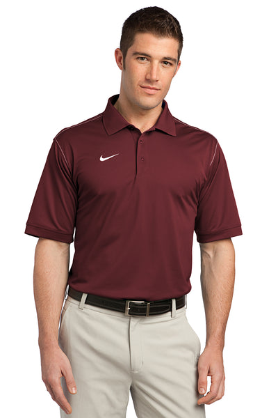 Nike Dri-FIT Sport Swoosh Pique Polo - GREEQ