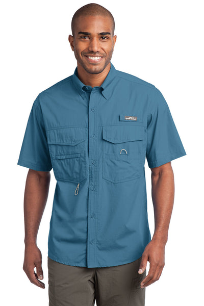 Eddie Bauer Short Sleeve Fishing Shirt - GREEQ