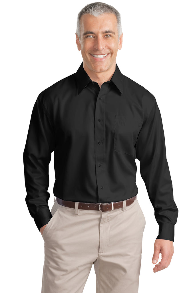 Port Authority Tall Non-Iron Twill Shirt - GREEQ