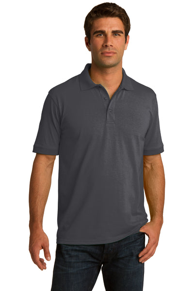 Port & Company Tall Core Blend Jersey Knit Polo - GREEQ