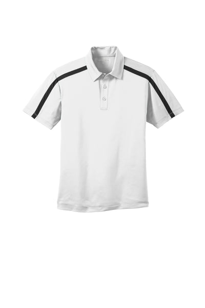 Port Authority Silk Touch™ Performance Colorblock Stripe Polo - GREEQ