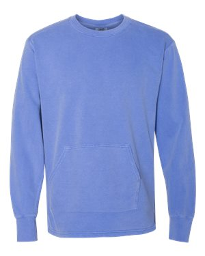 Comfort Color - French Terry Crewneck with Pocket - 1536CL