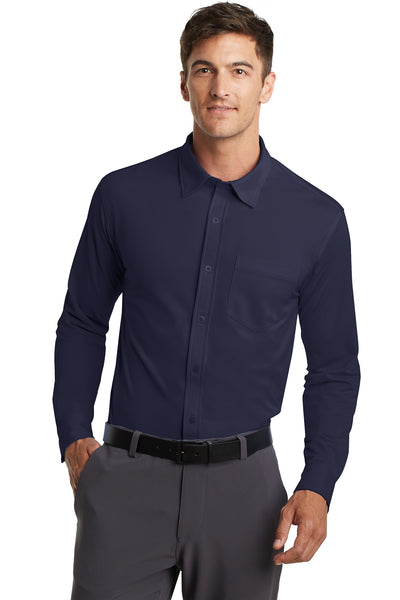 Port Authority Dimension Knit Dress Shirt - GREEQ