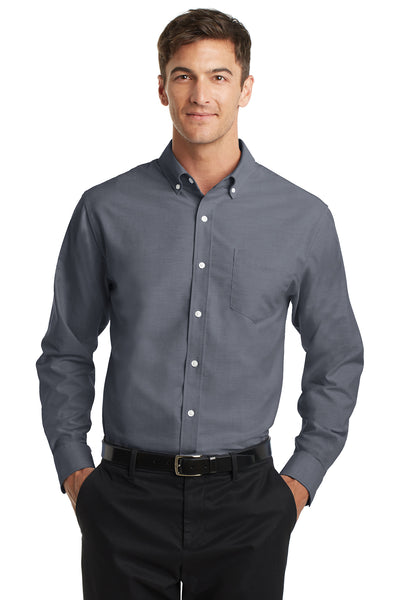 Port Authority SuperPro Oxford Shirt - GREEQ