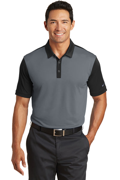 Nike Dri-FIT Colorblock Icon Modern Fit Polo - GREEQ