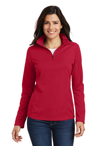 Port Authority Ladies Pinpoint Mesh 1/2-Zip - GREEQ