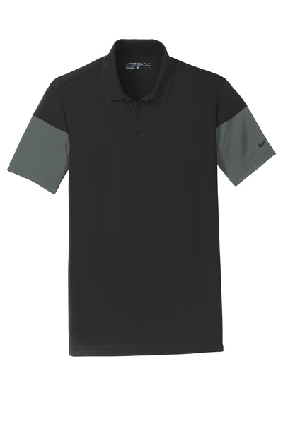 Nike Dri-FIT Sleeve Colorblock Modern Fit Polo - GREEQ