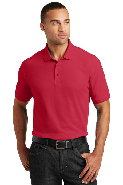 Port Authority Tall Core Classic Pique Polo - GREEQ