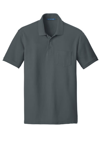 Port Authority Core Classic Pique Pocket Polo DARK COLORS - GREEQ