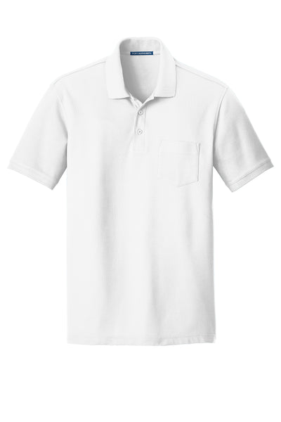 Port Authority Core Classic Pique Pocket Polo LIGHT COLORS - GREEQ