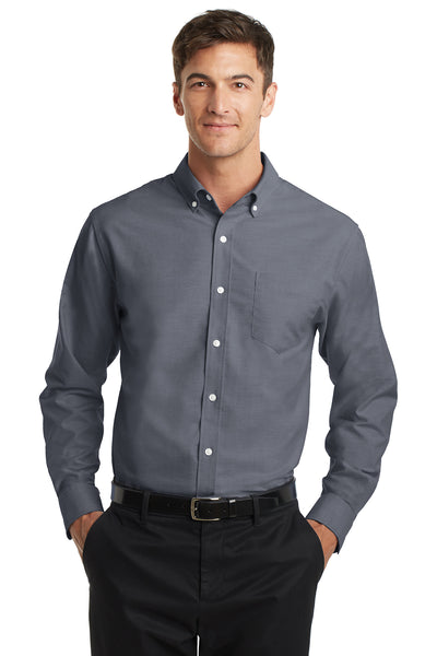 Port Authority Tall SuperPro Oxford Shirt - GREEQ