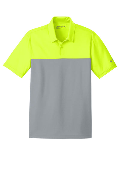 Nike Dri-FIT Colorblock Micro Pique Polo - GREEQ