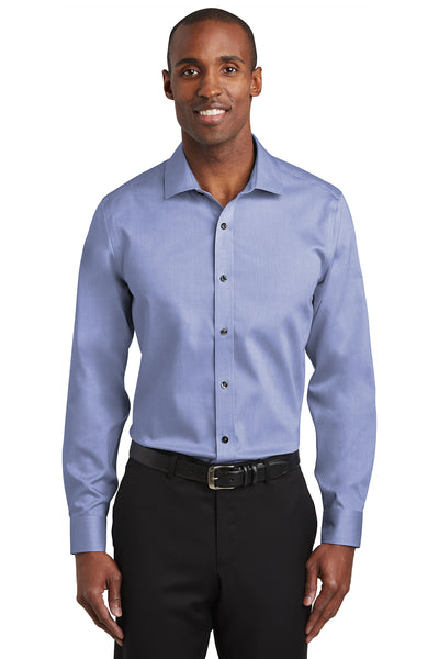 Red House Slim Fit Pinpoint Oxford Non-Iron Shirt - GREEQ