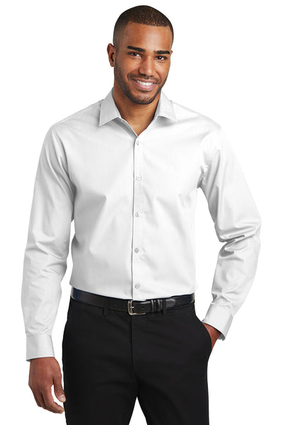 Port Authority Slim Fit Carefree Poplin Shirt - GREEQ