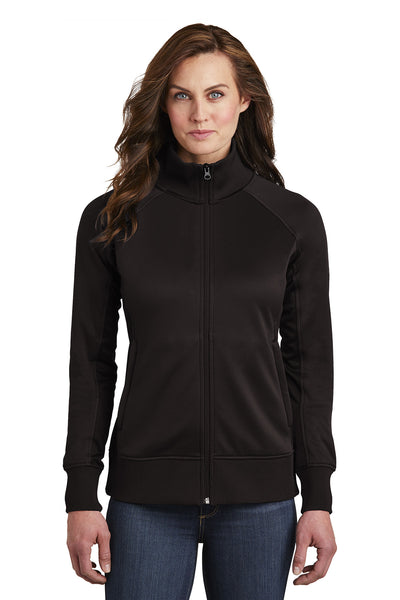 The North Face Ladies Tech Full-Zip Fleece Jacket - GREEQ