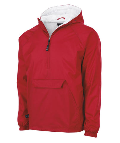 Charles River 1/4 Zip Pullover - RED - NEMES-12431E
