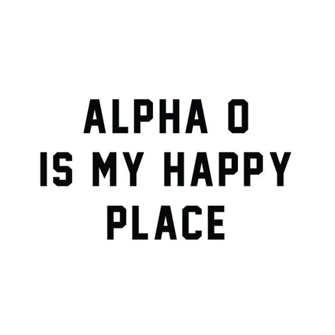 Alpha Omicron Pi - Happy Place - PI-1063