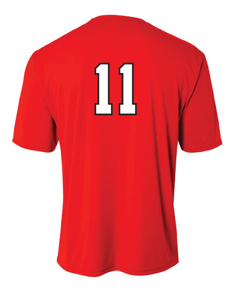 Germantown Softball - Red Jersey - 12879 14U-Lewis