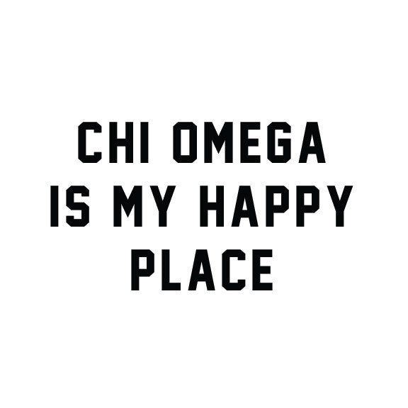 Chi Omega - Happy Place - PI-1064