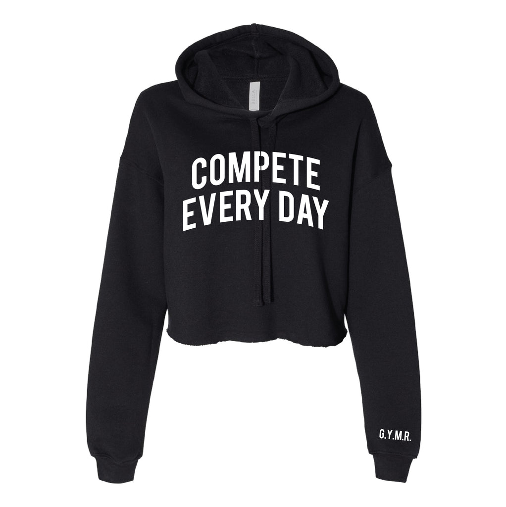 Compete Everyday - Cropped Hoodie - SPENC-17103