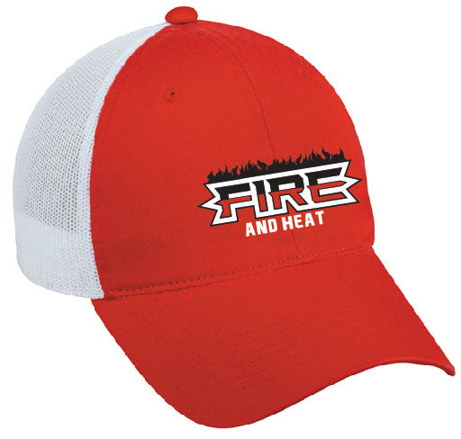 Fire and Heat - Hat or Visor - 17-FIRHE-10138