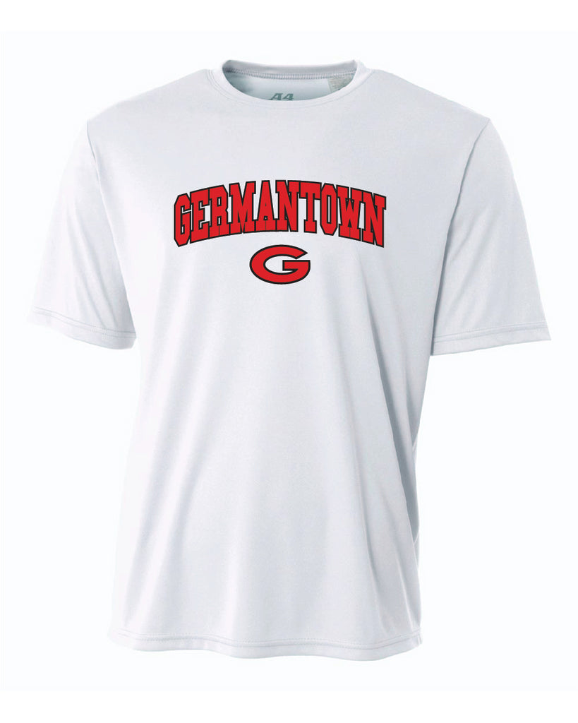 Germantown Softball - White Jersey - 12293 14U-Lewis