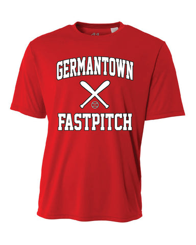 Germantown Softball - Red Jersey - 12879 14U Hodum