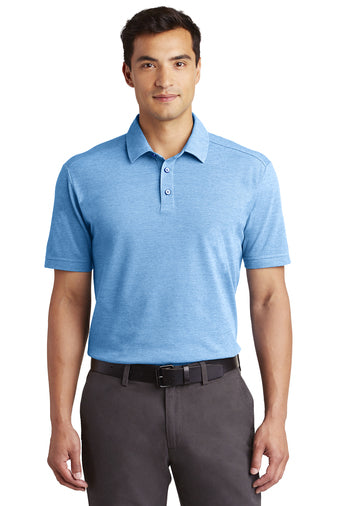 Port Authority Coastal Cotton Blend Polo - GREEQ