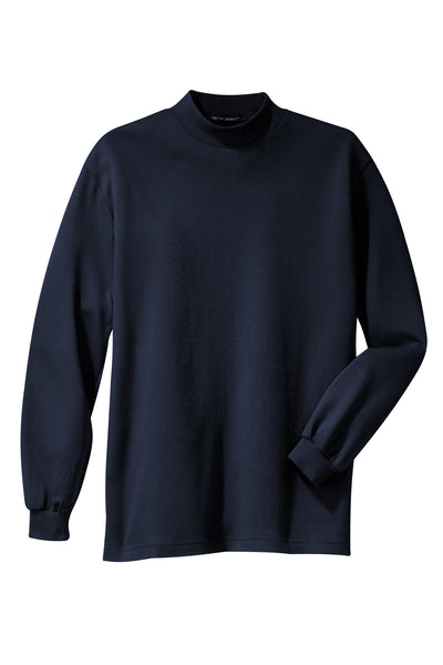 Port Authority Interlock Knit Mock Turtleneck - GREEQ