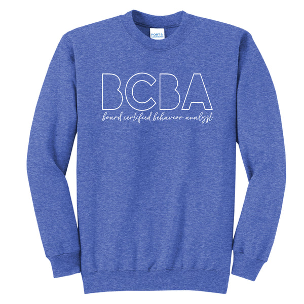 Board Certified Behavior Analyst - Crewneck - PEDPL-17766