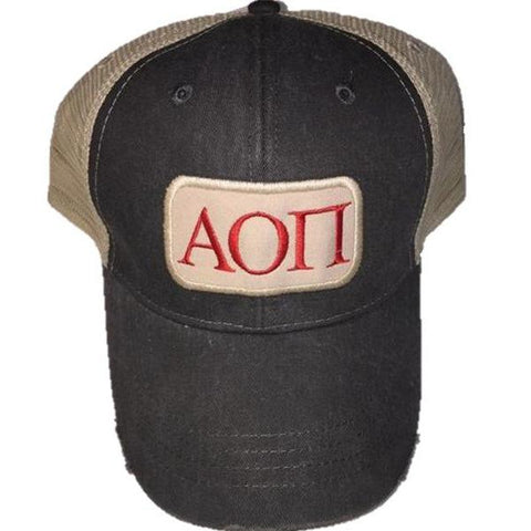 Alpha Omicron Pi - Patch Hat