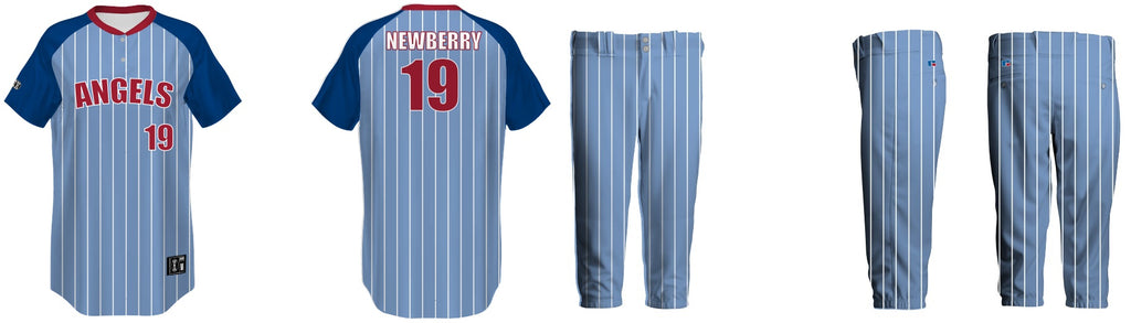 Angels Softball - Newberry - Uniform Collection 18345