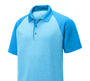 Sport-Tek PosiCharge RacerMesh Raglan Heather Block Polo - GREEQ