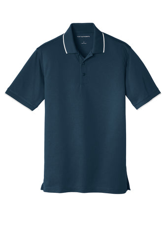 Port Authority Dry Zone UV Micro-Mesh Tipped Polo - GREEQ