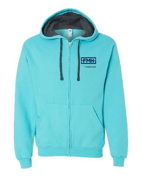 Full Zip Fleece - Fruit of the Loom - FMH-11032E
