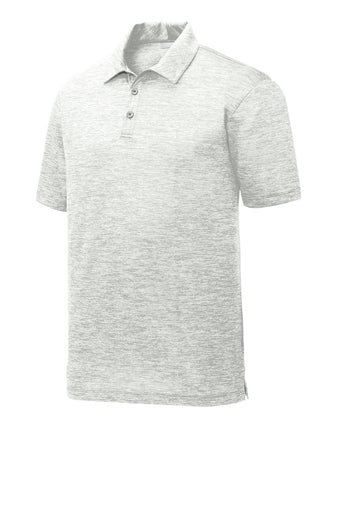 Sport-Tek PosiCharge Electric Heather Polo - GREEQ