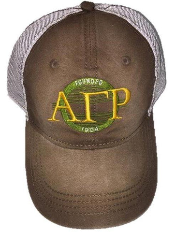 Hat - Alpha Gamma Rho - Vintage Sunset