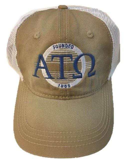 Hat - Alpha Tau Omicron - Vintage Sunset