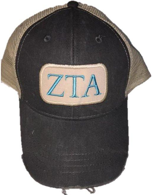 Zeta Tau Alpha - Patch Hat
