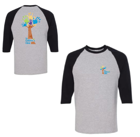 Canvas Unisex 3/4 Sleeve Baseball Tee - 17-THCHC-10382r