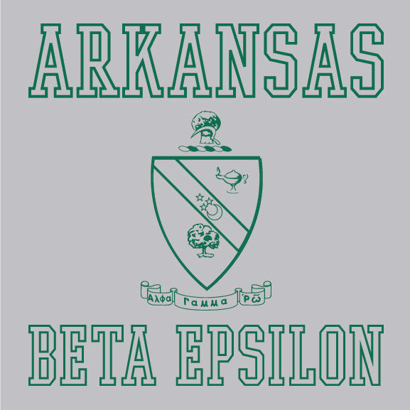 Alpha Gamma Rho - Arkansas Crest - PI - 1101