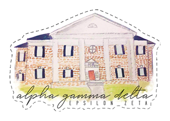 Alpha Gamma Delta House Sticker