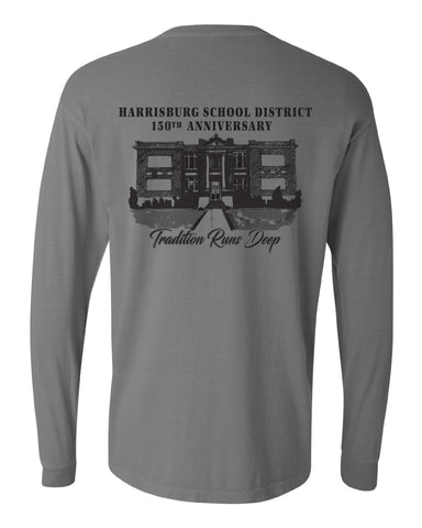 Harrisburg School - Tradition Runs Deep - HBURG-12906 GREY