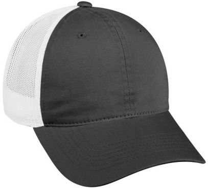 Platinum Series Hat - Unstructured Mesh Back - CHARCOAL - NEMES-12431E