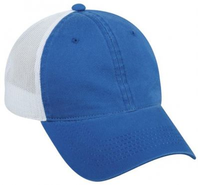 Platinum Series Hat - Unstructured Mesh Back - ROYAL - NEMES-12431E