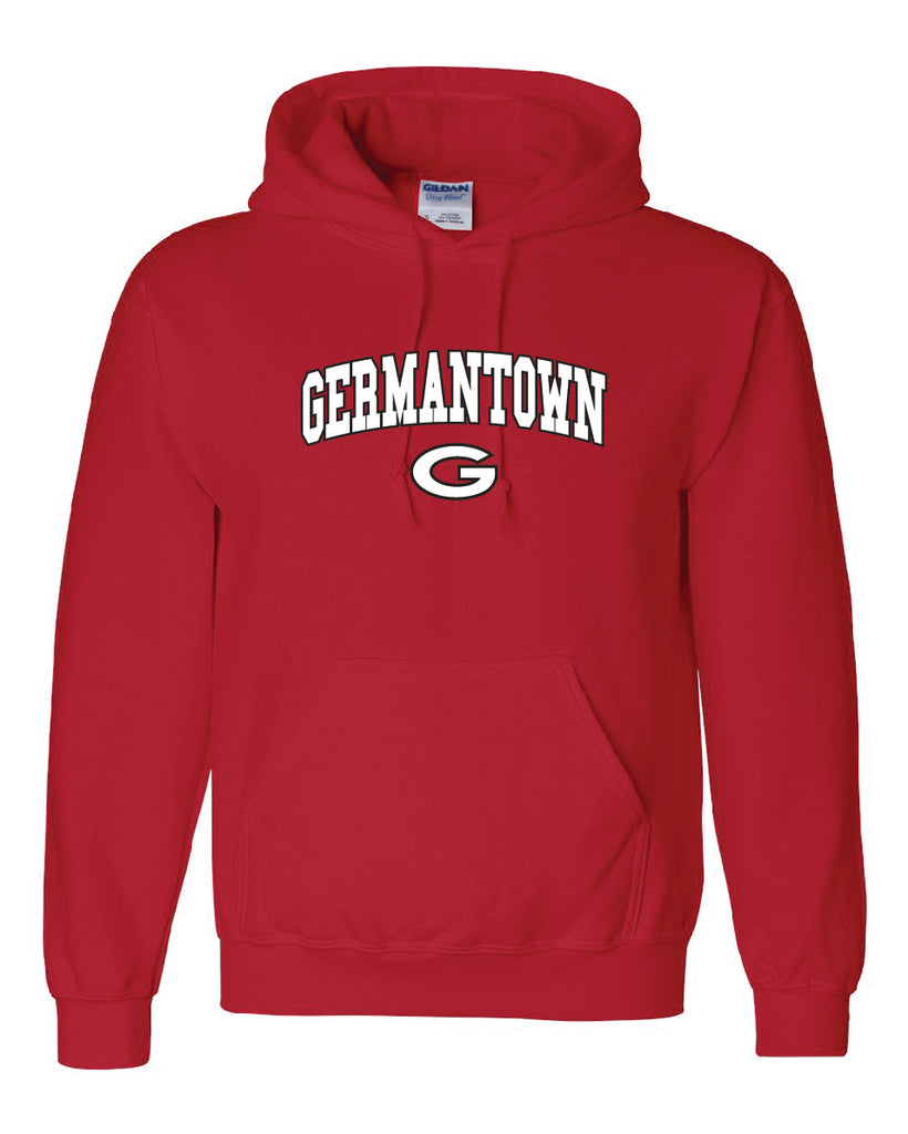 Germantown Hoody - GERED-12293 10U