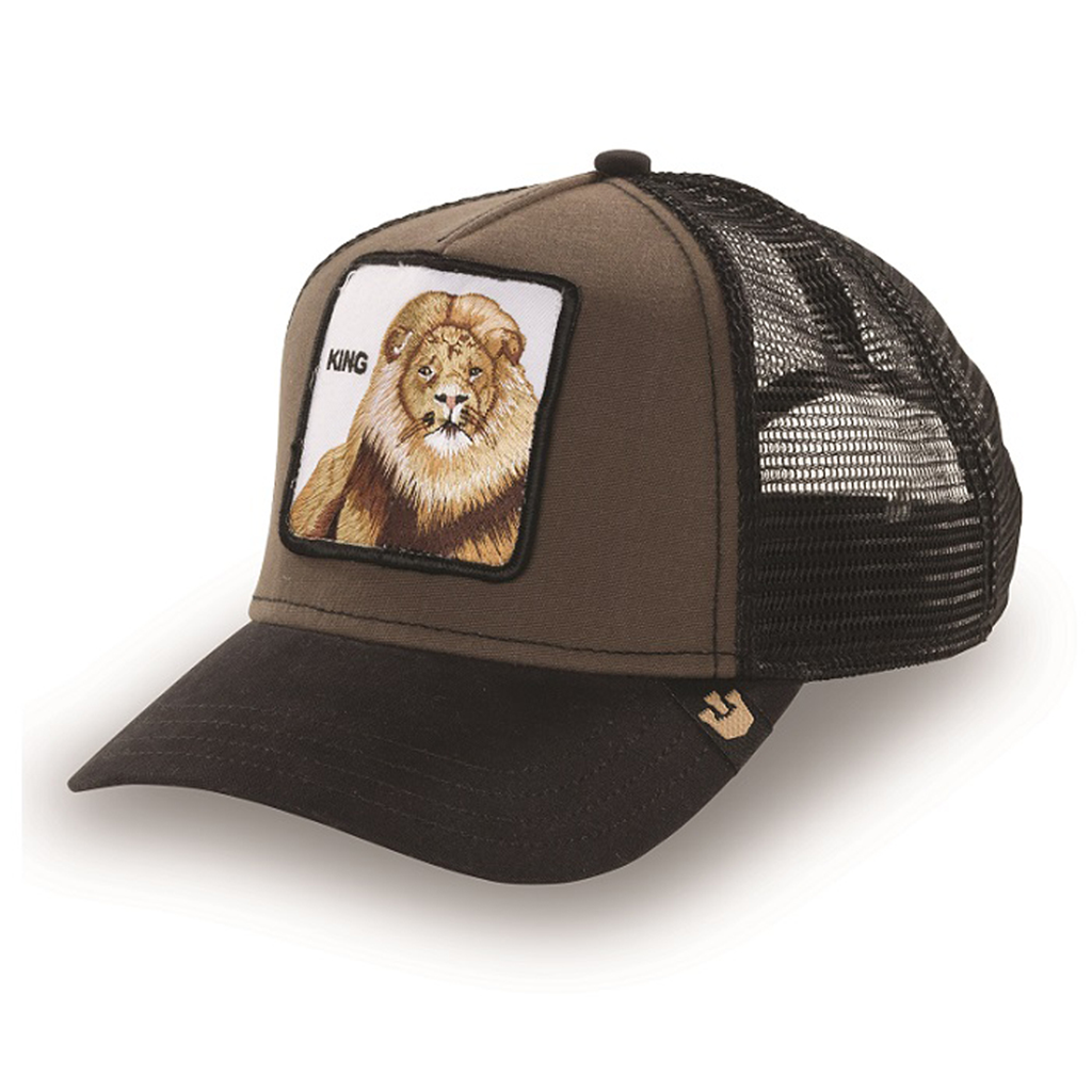 King Animal Series Trucker Hat